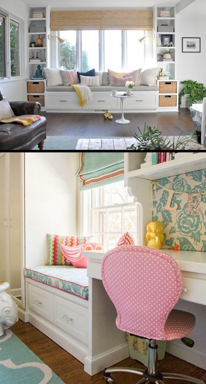 © nest-studio-home  © houseupdated  Пространство возле окна идеально подходит для создан