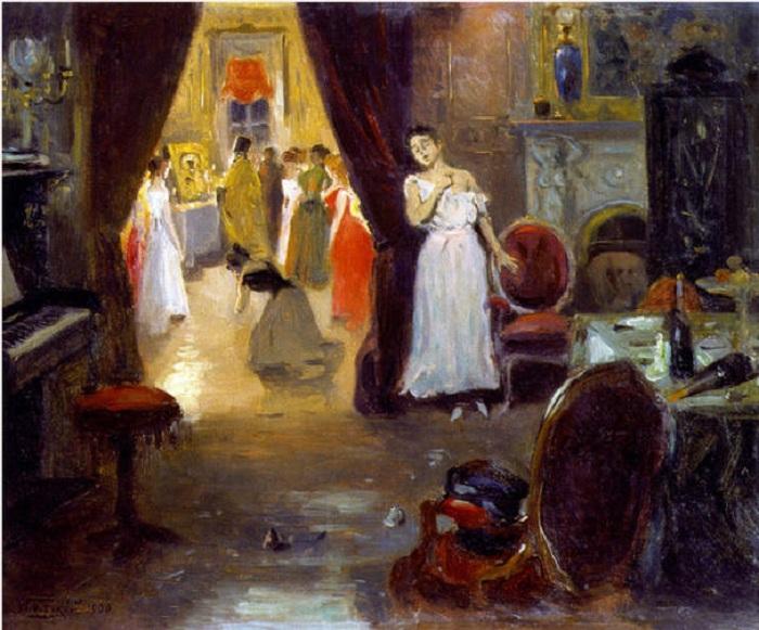 Владимир Маковский, 1900 год Художник Маковский вошел в историю как основатель жанра критического ре