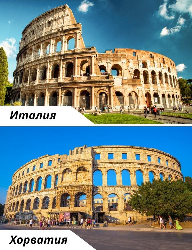 © depositphotos  © depositphotos     Колизей— одна изсамых узнаваемых ип
