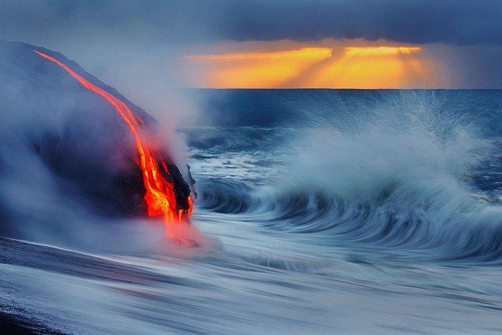 Извержение вулкана на Гавайях (21 фото)