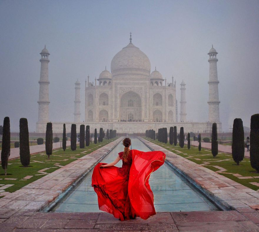 Тадж-Махал, Индия.