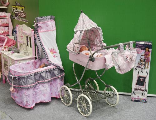 игрушки De Cuevas - коляски, кроватки, переноски, стульчики
