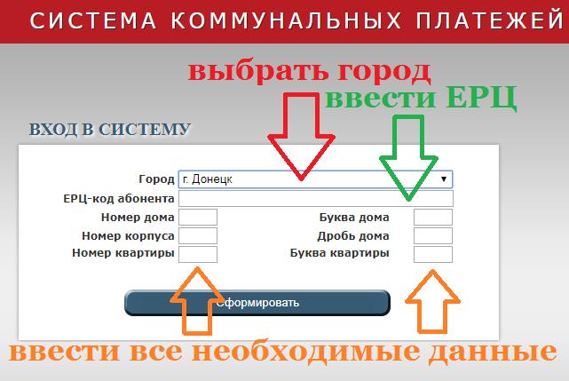 Коды ЕРЦ база данных скачать ДНР Донецк