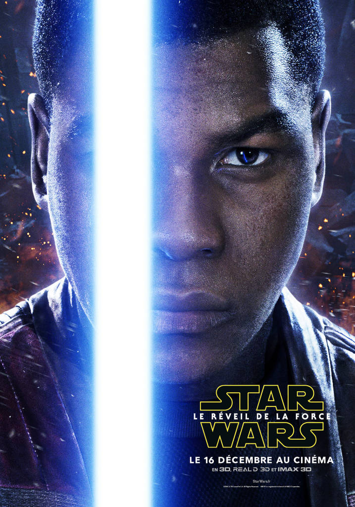 Official Star Wars: The Force Awakens Characters Posters