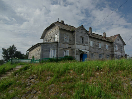 Соловецкий поселок Автор: Юрий Семенов
