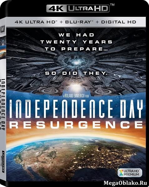 День независимости: Возрождение / Independence Day: Resurgence (2016) | UltraHD 4K 2160p