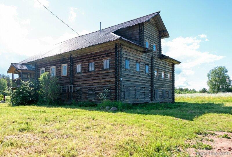 Старинный дом в Пяльме, Карелия