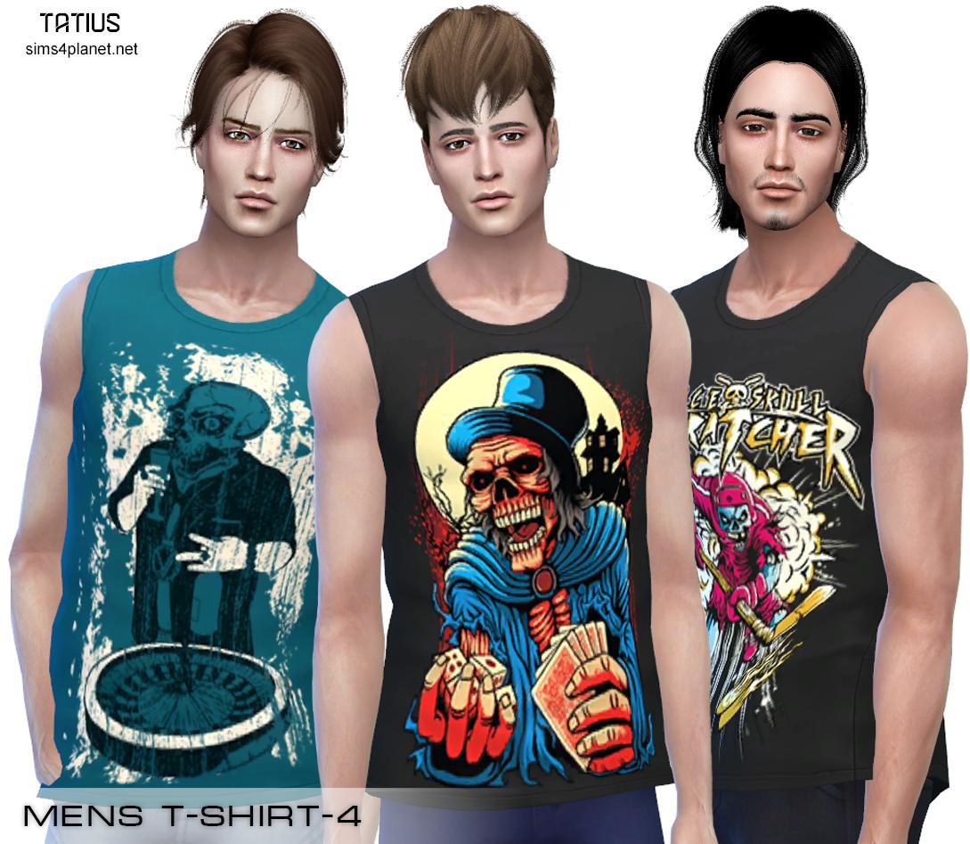 Tatius. Mens T-Shirt-4