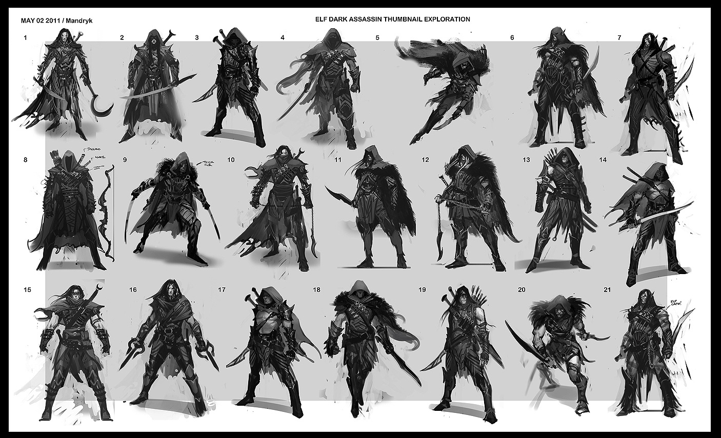 Middle-earth: Shadow of Mordor Concept Art by Daryl Mandryk