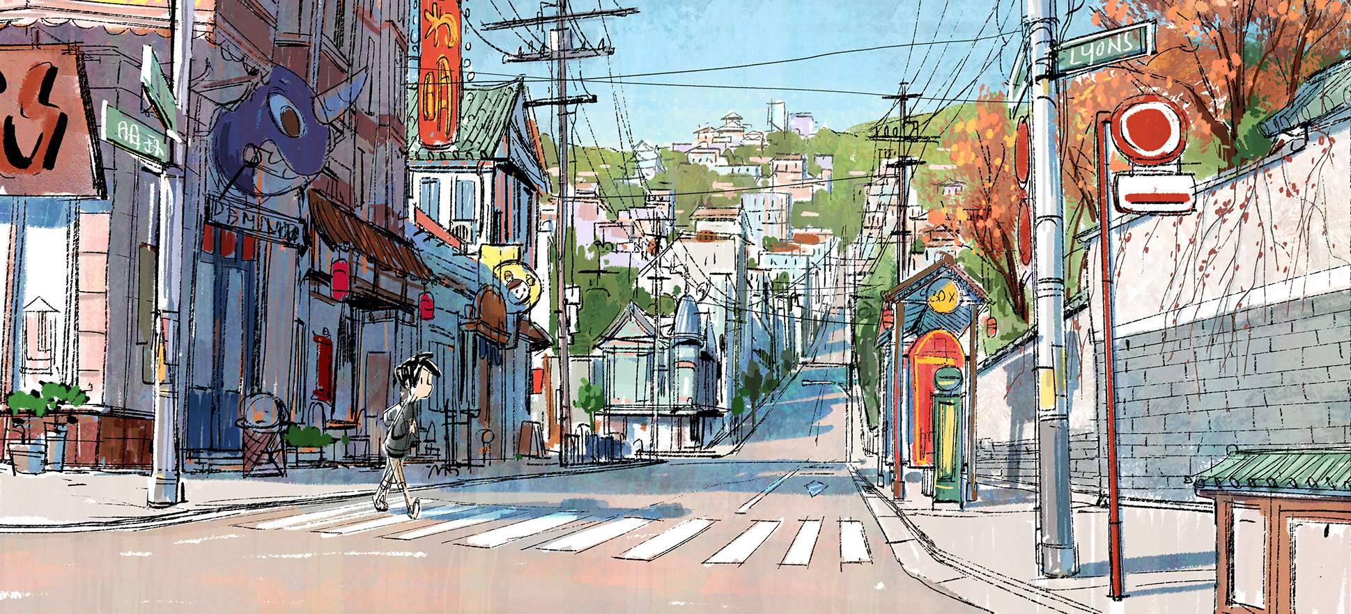 Big Hero 6 Concept Art by Mingjue Helen Chen
