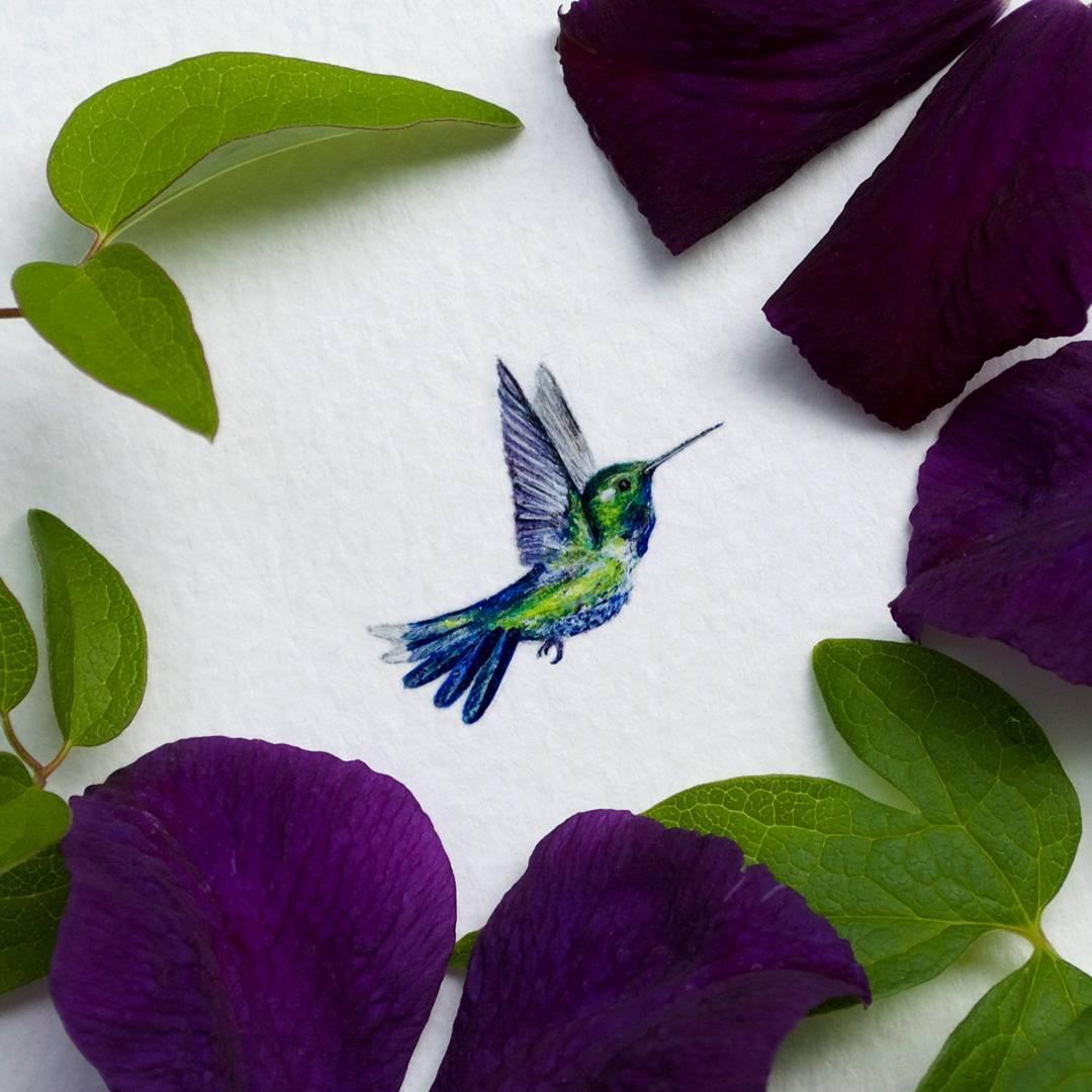 Cute Miniature Watercolor Paintings