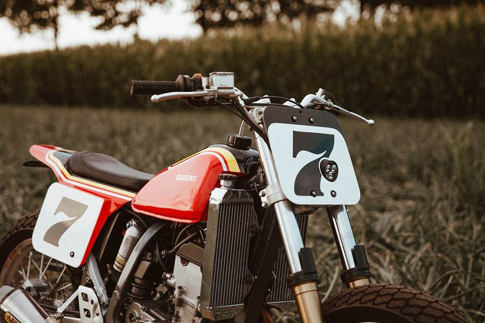 Customs by Frank: трекер Suzuki DR-Z400S