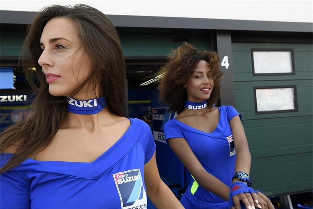 Девушки паддока Гран При Мизано 2017