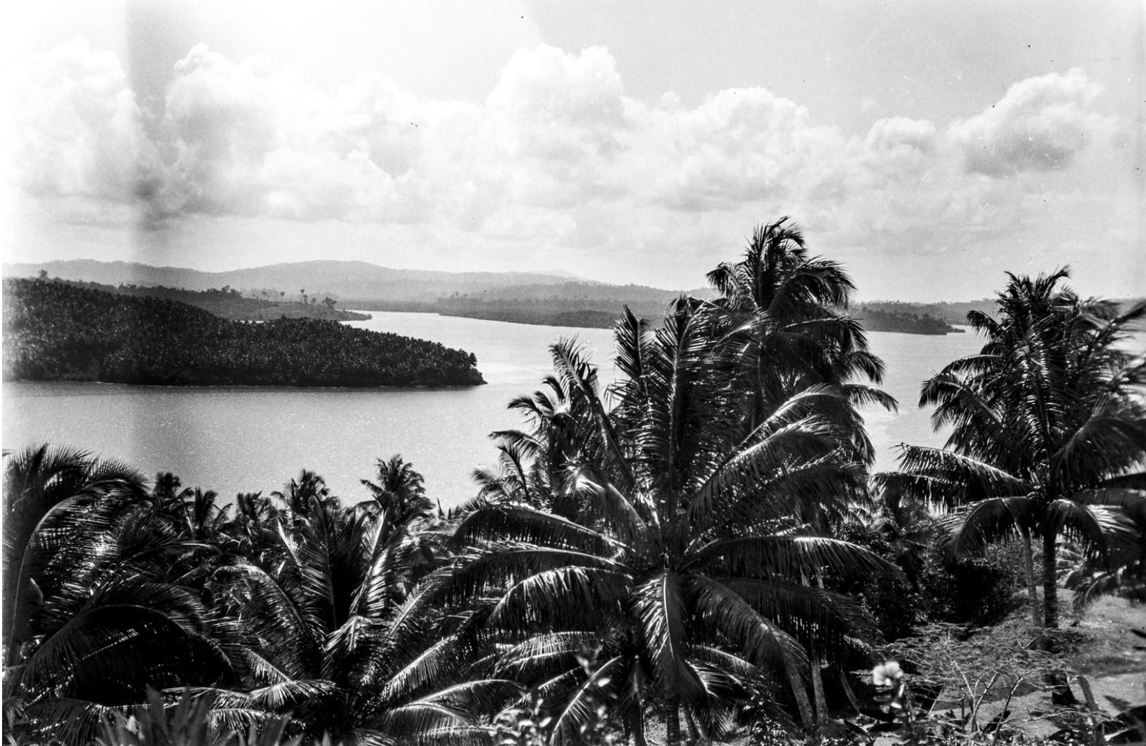 1137. Остров Вайпер. Вид на залив Порт-Блэр