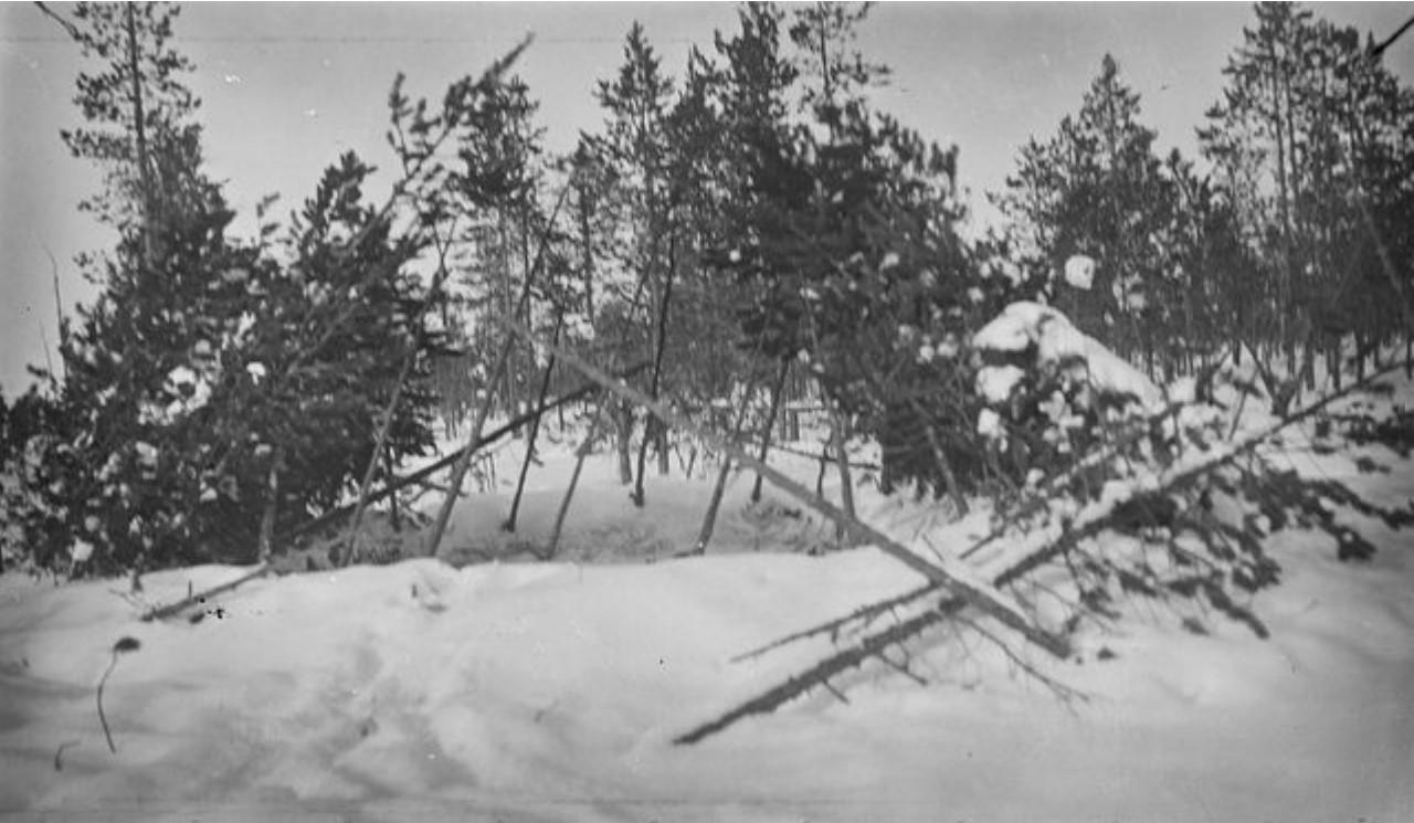 39. Река Вак. Лагерь самоедов возле Нарел-Ту