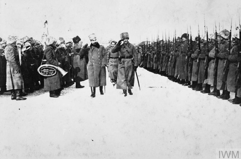 1919. Солдаты Чехословацкого легиона в Омске