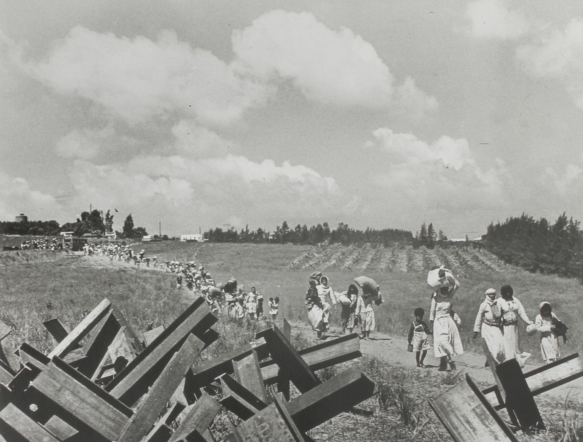 1948. Палестинские беженцы. Роберт Капа