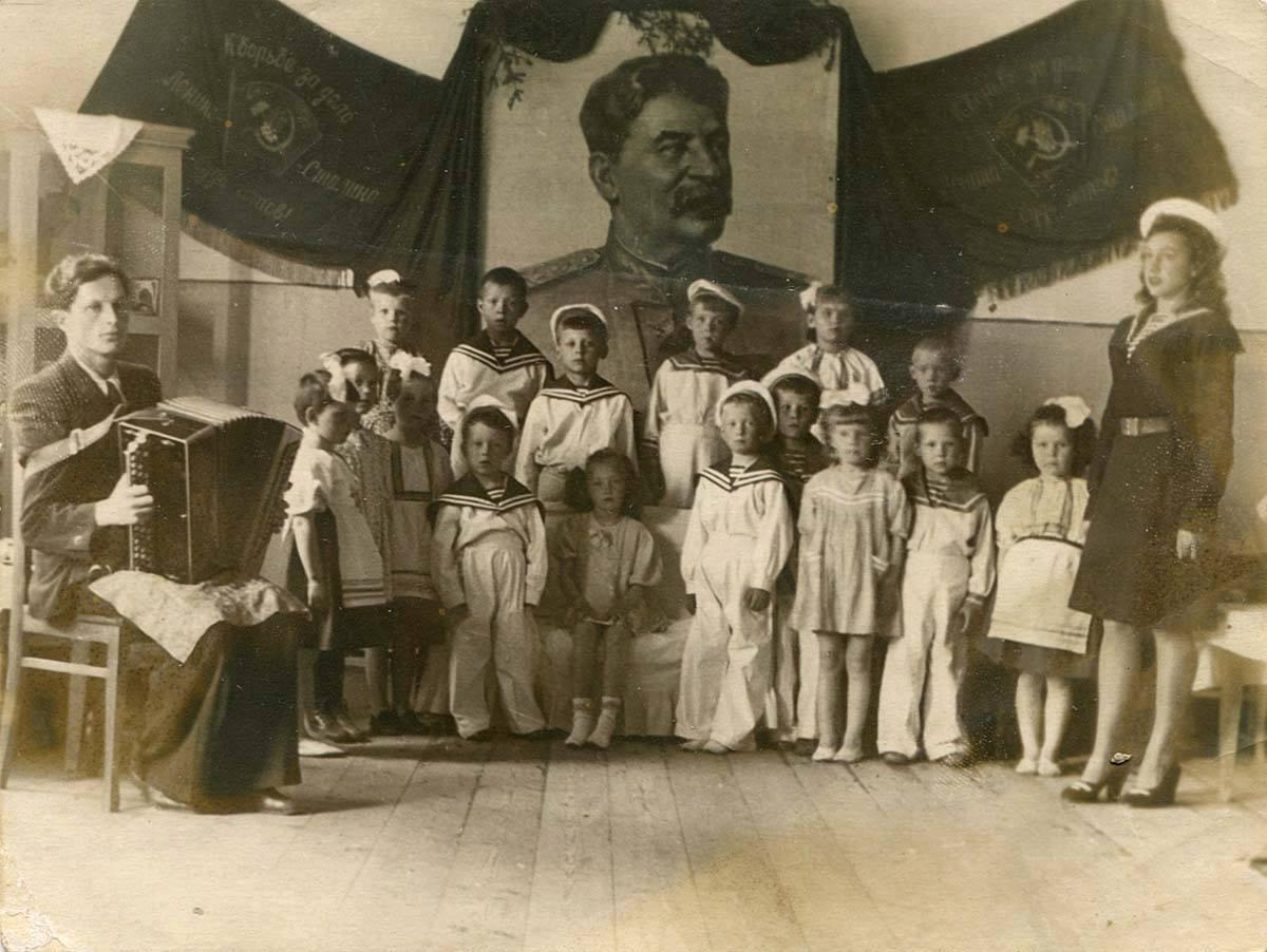 1951. Старшая группа детского сада №71