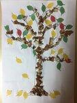 """Бокач Артем (рук. Нардекова Светлана Анатольевна) - """"Осеннее дерево"""""""
