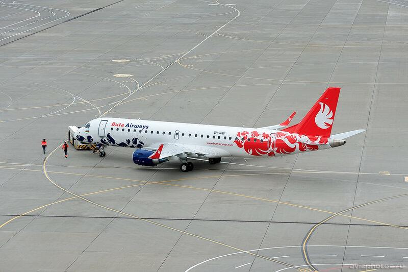 Embraer 190-100LR (VP-BRV) Buta Airways 0006_D705641