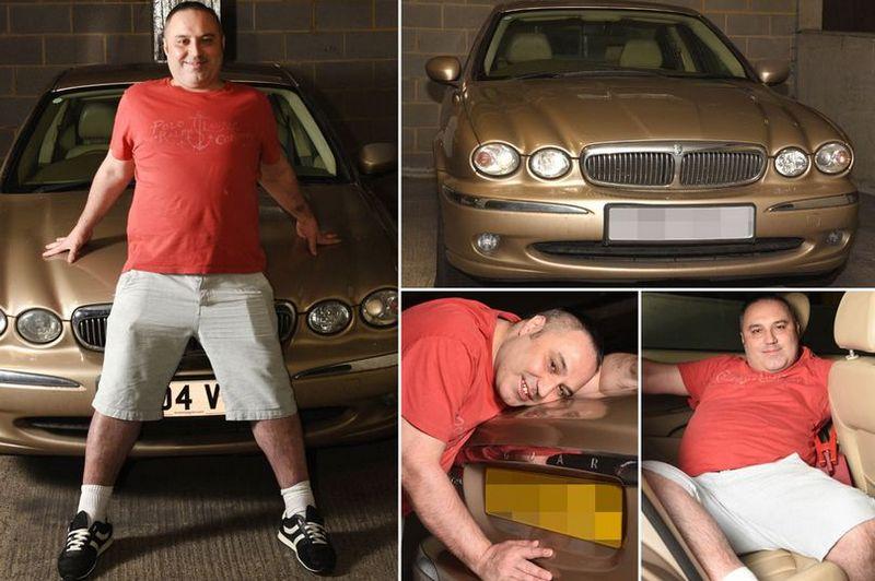 Британец искренне любит свой автомобиль