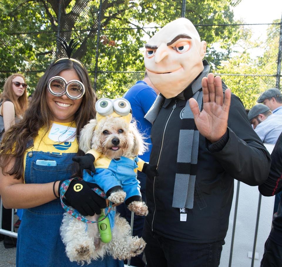 К Хэллоуину готовы: парад собак в Нью-Йорке