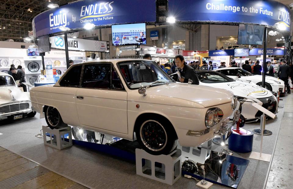 Токийский автосалон 2018 можно, января, тюнингателье, модели, также, примеры, безумных, различных, Кроме, автопрома, автомобилей, мотоциклов, полюбоваться, симпатичных, девушекмоделей, представляющих, классические, новинки, мирового, является