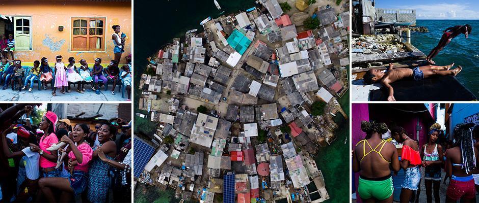Крошечный Карибский остров размером в два футбольных поля на котором проживает 1200 человек