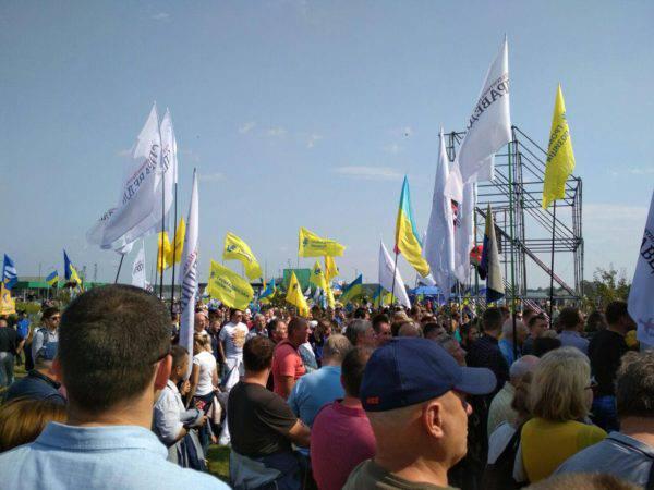 Активисты и политики на митинге выразили свое возмущение действиями власти в отношении Саакашвили (ФОТО) — РНС