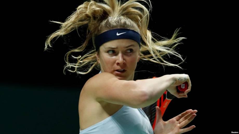 Теннис: Свитолина проиграла в третьем раунде турнира в Катаре