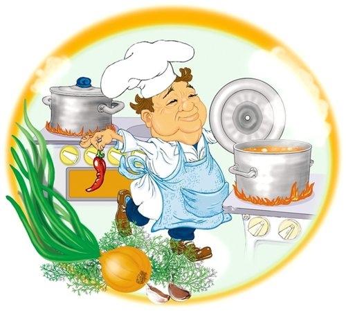 Международный День повара. Повар за работой