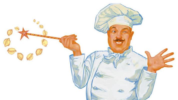 Международный День повара. Повар с волшебной палочкой