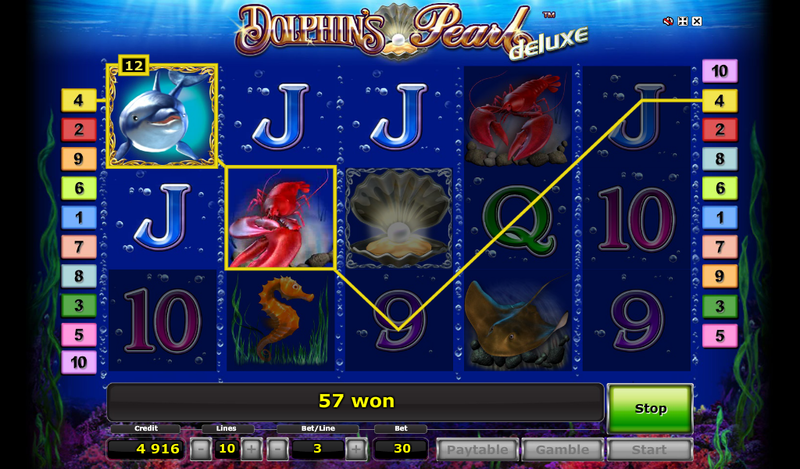 Dolphins pearl slot general game