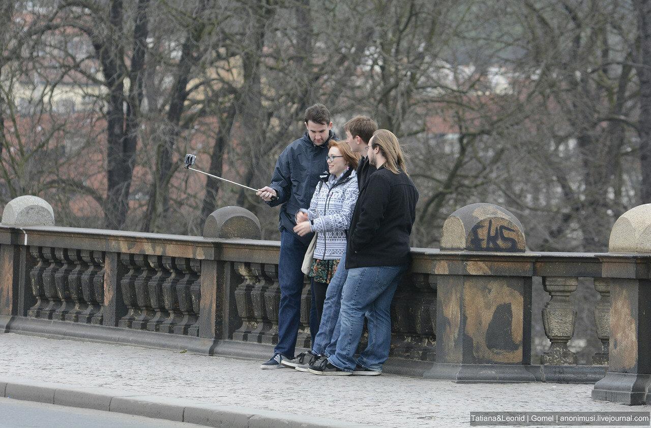 Жители Праги перед Рождеством