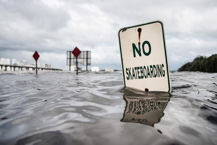 2. Жертвами урагана стали более 20 человек. (Фото Alvin Baez | Reuters):