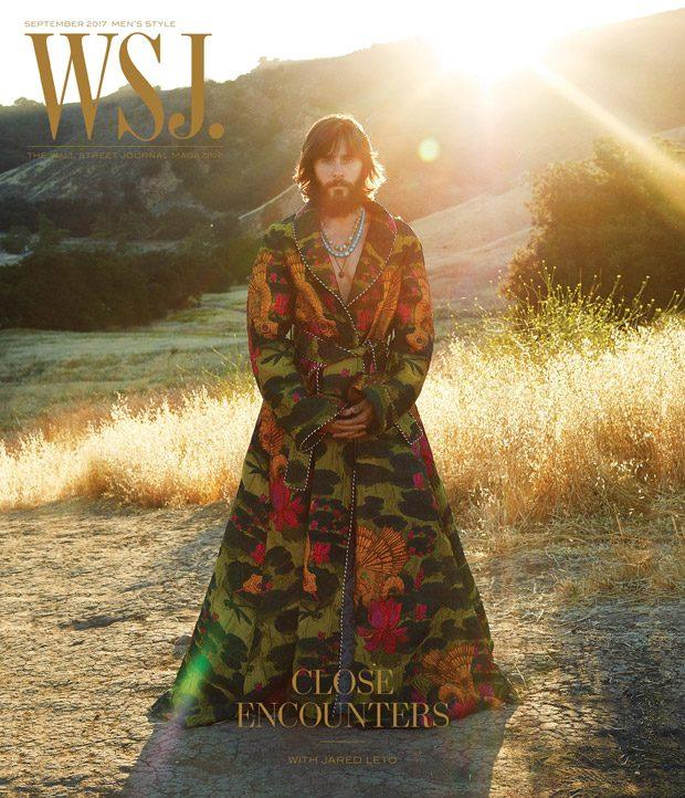 Джаред Лето в WSJ. Magazine