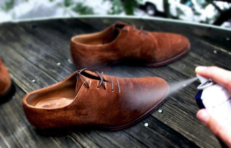 Краска для замшевой обуви