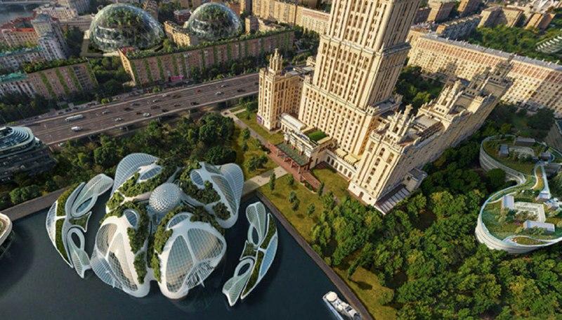 Поэтому в столице может появиться сеть климатических куполов с особым микроклиматом, которые поддерж