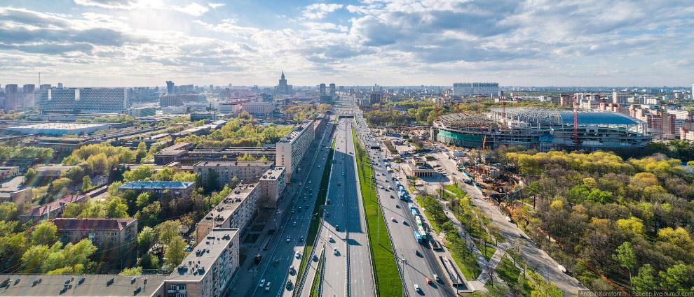 41. Гостинично-жилой комплекс «ВТБ Арена парк».