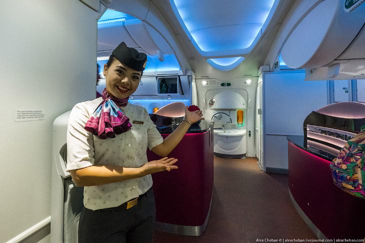 2. Чего же ожидать на борту «ковра-самолета» из Катара? Добро пожаловать на борт!