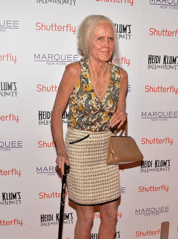 2013 год: 95-летняя старушка    В тот год Хайди опередила время, став элегантно