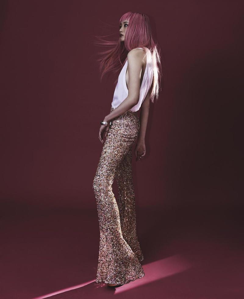 Фернанда Ли на страницах Vogue Australia