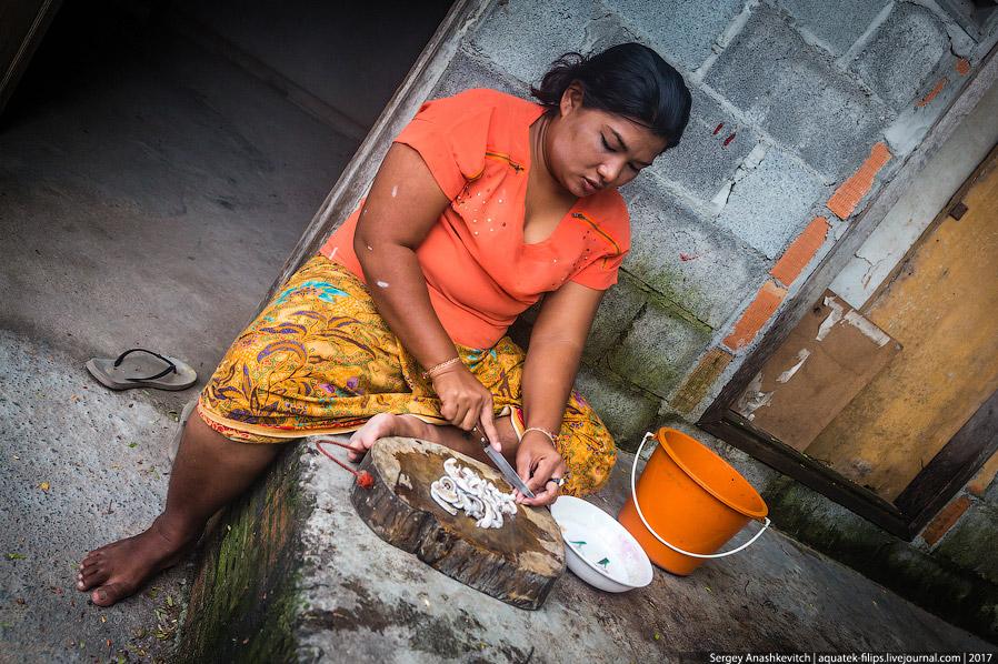 15. Зачем она продает кучки песка? Затем, что в этих кучках спрятались черви. Рыбаки поймут)