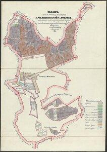 План Купавинской слободы