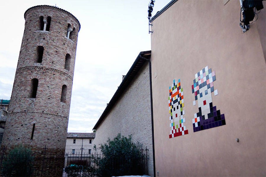 Pixelated Invasions Street-Art in Italy