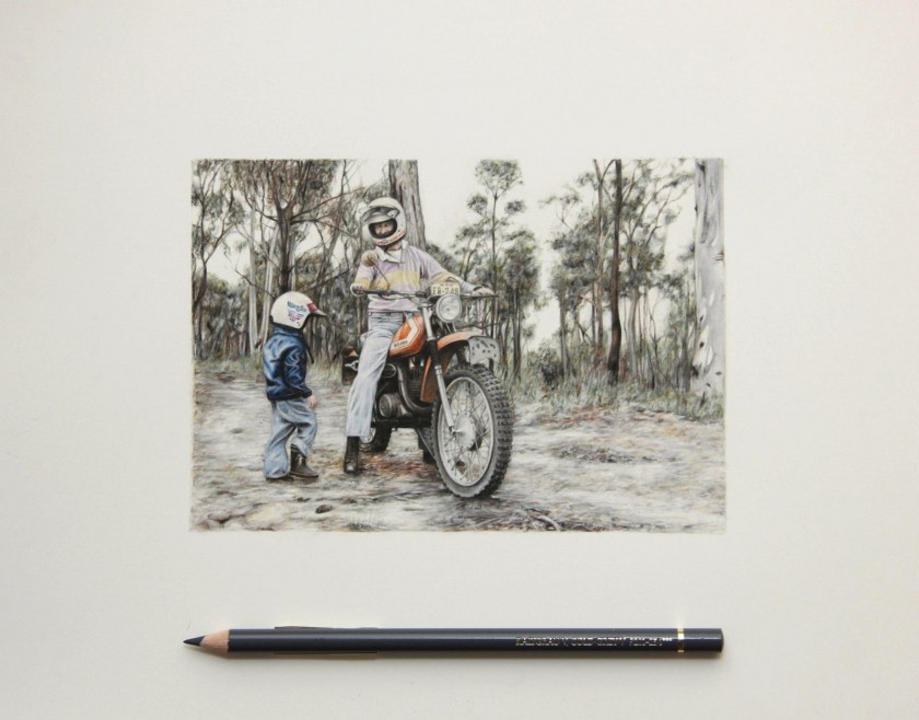 Realistic Pencil Drawings by Paul White