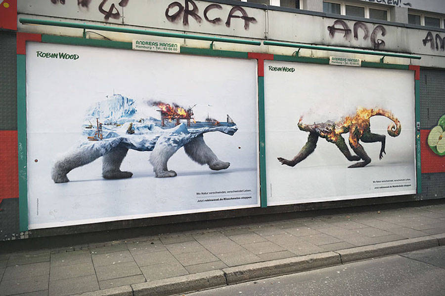 Destroying Nature is Destroying Life Ad