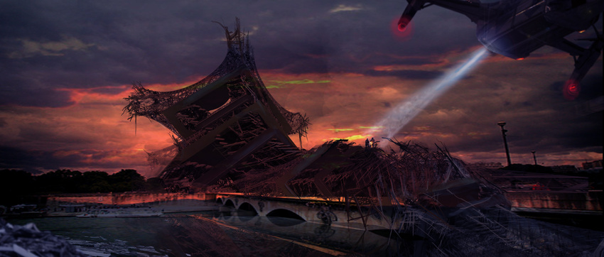 Edge of Tomorrow Concept Art by Ivan Manzella