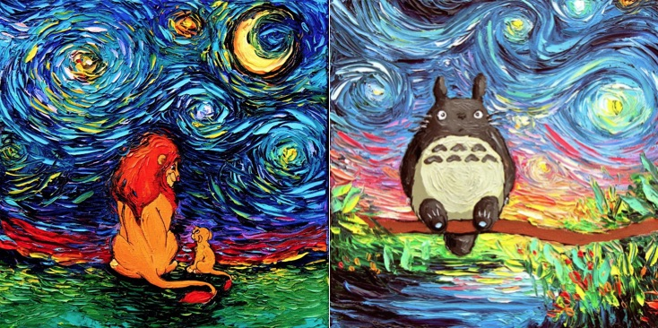 Sweet Reinterpretations of Van Gogh Painting (12 pics)