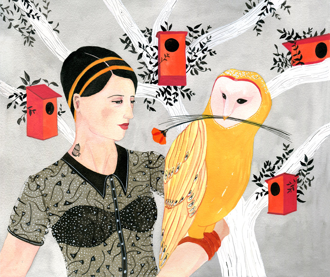 Dreamy Illustrations of Artist Luisa Rivera